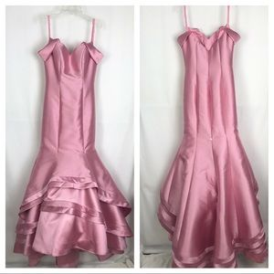 Formal mermaid dress